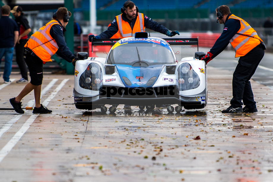 Spacesuit Collections Image ID 102319, Nic Redhead, LMP3 Cup Silverstone, UK, 13/10/2018 10:05:34