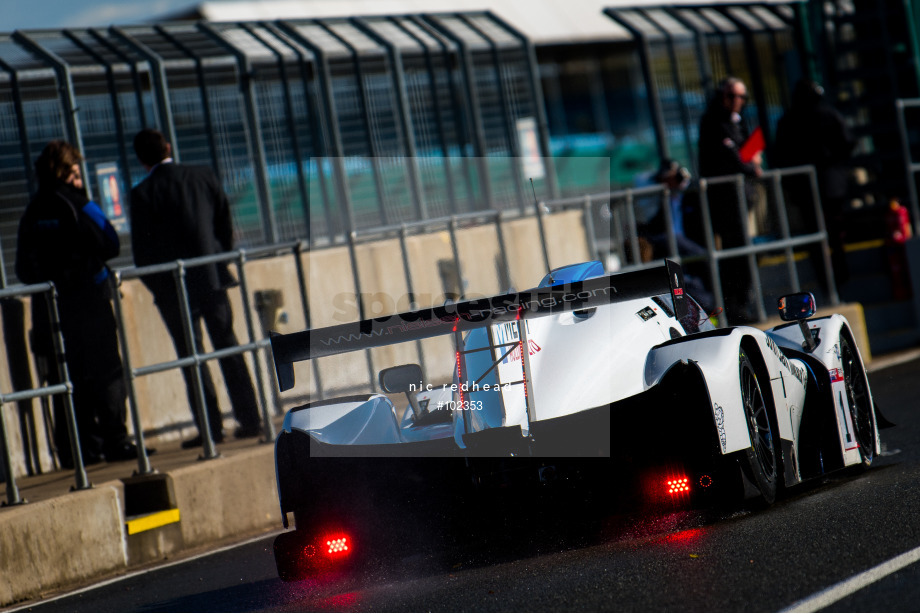 Spacesuit Collections Image ID 102353, Nic Redhead, LMP3 Cup Silverstone, UK, 13/10/2018 11:30:27