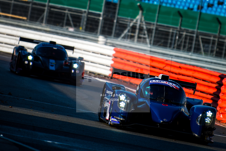 Spacesuit Collections Image ID 102354, Nic Redhead, LMP3 Cup Silverstone, UK, 13/10/2018 11:30:36