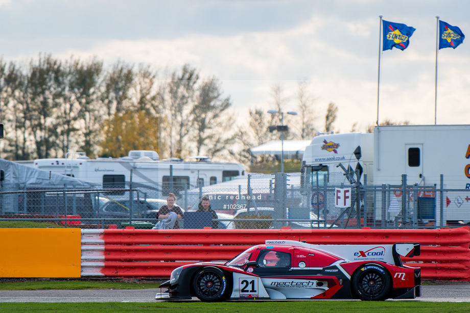 Spacesuit Collections Image ID 102367, Nic Redhead, LMP3 Cup Silverstone, UK, 13/10/2018 15:51:50