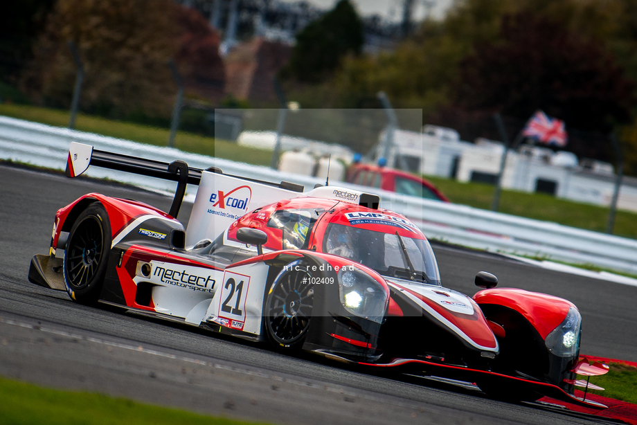 Spacesuit Collections Image ID 102409, Nic Redhead, LMP3 Cup Silverstone, UK, 13/10/2018 16:34:25