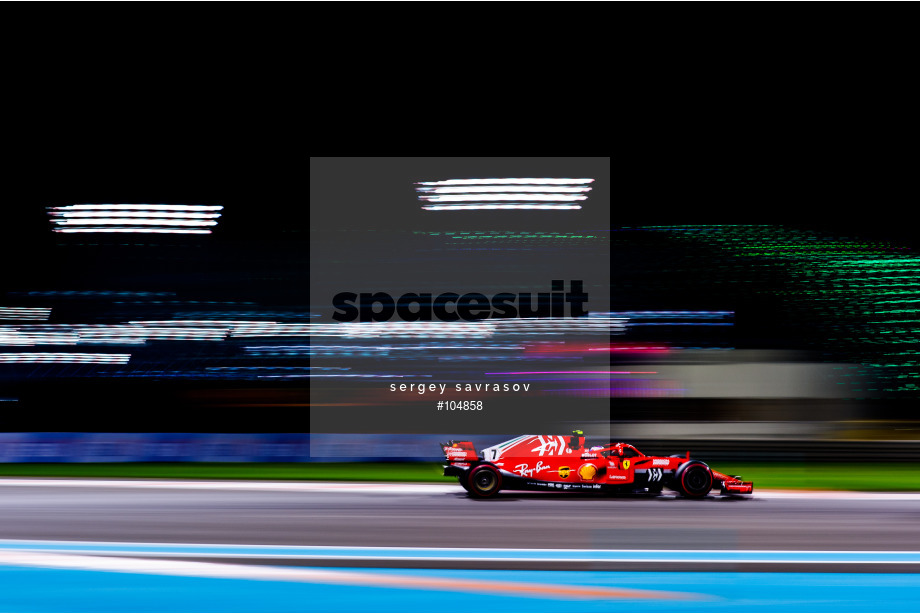 Spacesuit Collections Image ID 104858, Sergey Savrasov, Abu Dhabi Grand Prix, United Arab Emirates, 23/11/2018 18:29:33