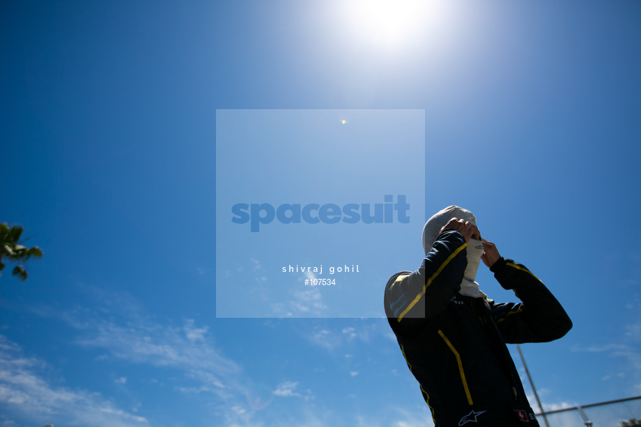 Spacesuit Collections Image ID 107534, Shivraj Gohil, Long Beach ePrix, 04/04/2015 19:35:11