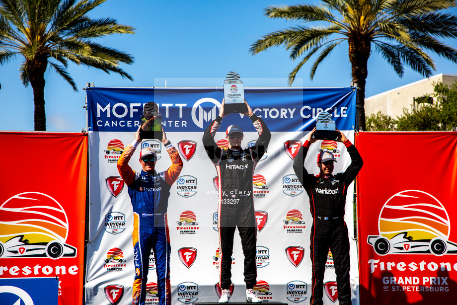 Spacesuit Collections Image ID 133297, Andy Clary, Firestone Grand Prix of St Petersburg, United States, 10/03/2019 16:08:05