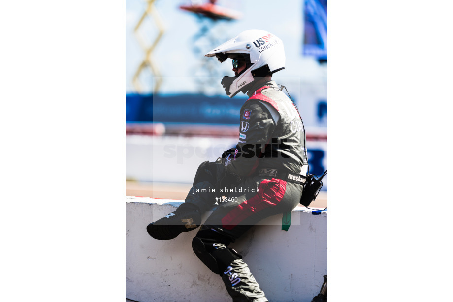Spacesuit Collections Image ID 133460, Jamie Sheldrick, Firestone Grand Prix of St Petersburg, United States, 10/03/2019 15:24:29