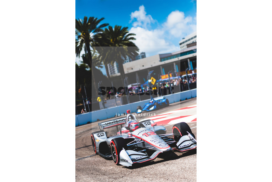 Spacesuit Collections Image ID 133707, Jamie Sheldrick, Firestone Grand Prix of St Petersburg, United States, 10/03/2019 13:41:51