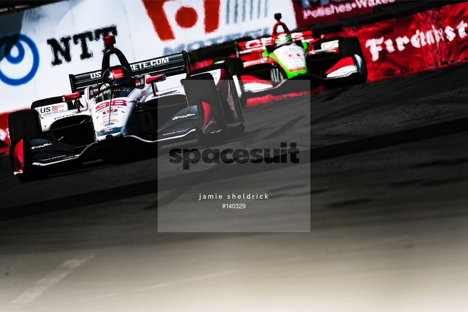 Spacesuit Collections Image ID 140329, Jamie Sheldrick, Acura Grand Prix of Long Beach, United States, 14/04/2019 14:37:14