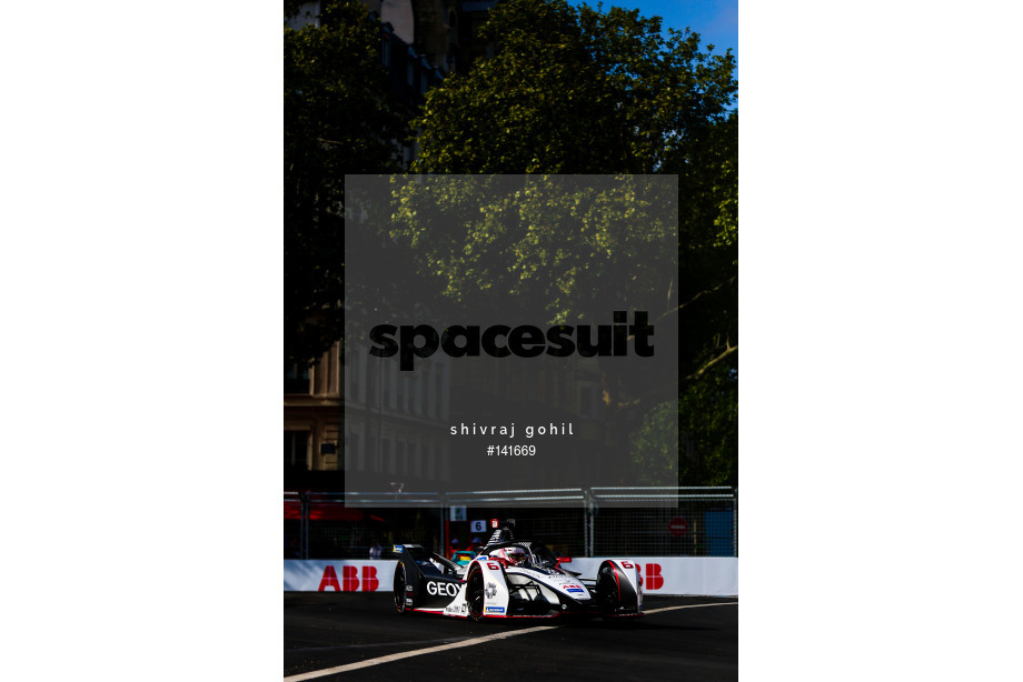 Spacesuit Collections Image ID 141669, Shivraj Gohil, Paris ePrix, France, 27/04/2019 10:29:58