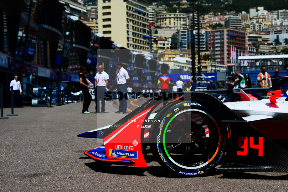 Spacesuit Collections Image ID 144505, Lou Johnson, Monaco ePrix, Monaco, 10/05/2019 12:17:50