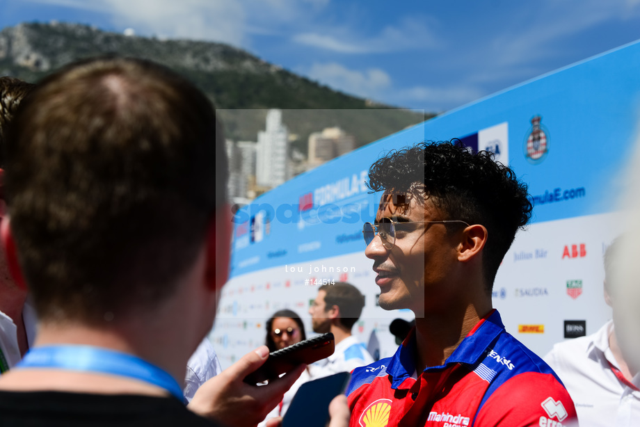 Spacesuit Collections Image ID 144514, Lou Johnson, Monaco ePrix, Monaco, 10/05/2019 12:42:28