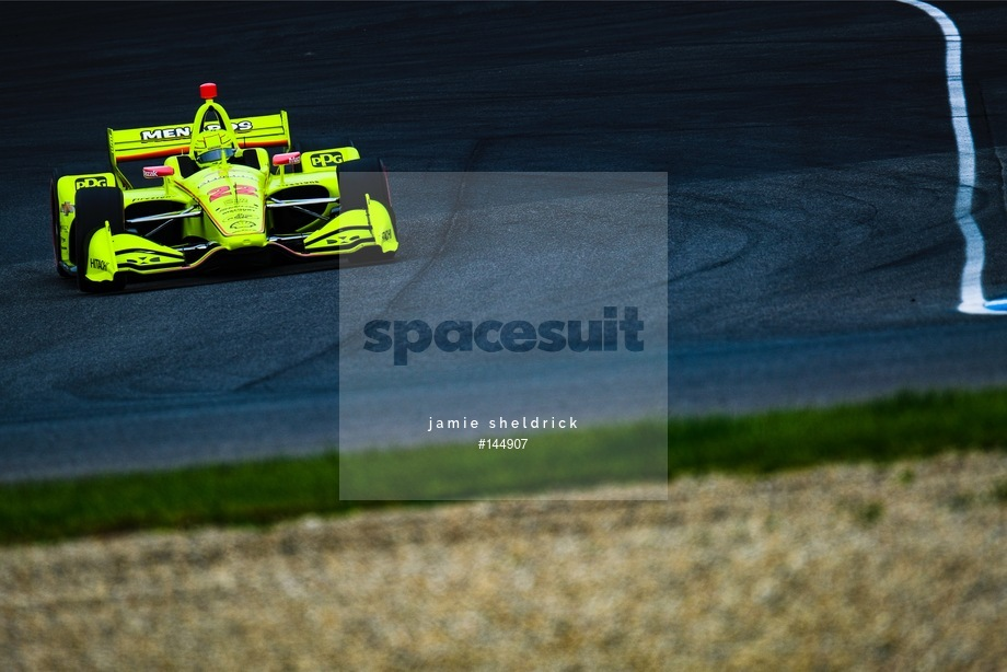 Spacesuit Collections Image ID 144907, Jamie Sheldrick, INDYCAR Grand Prix, United States, 10/05/2019 14:11:31