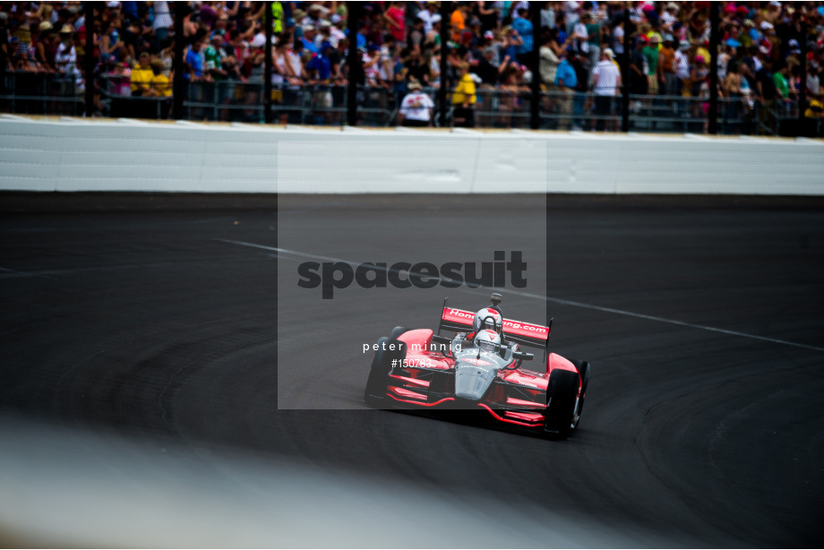 Spacesuit Collections Image ID 150783, Peter Minnig, Indianapolis 500, United States, 26/05/2019 12:45:06
