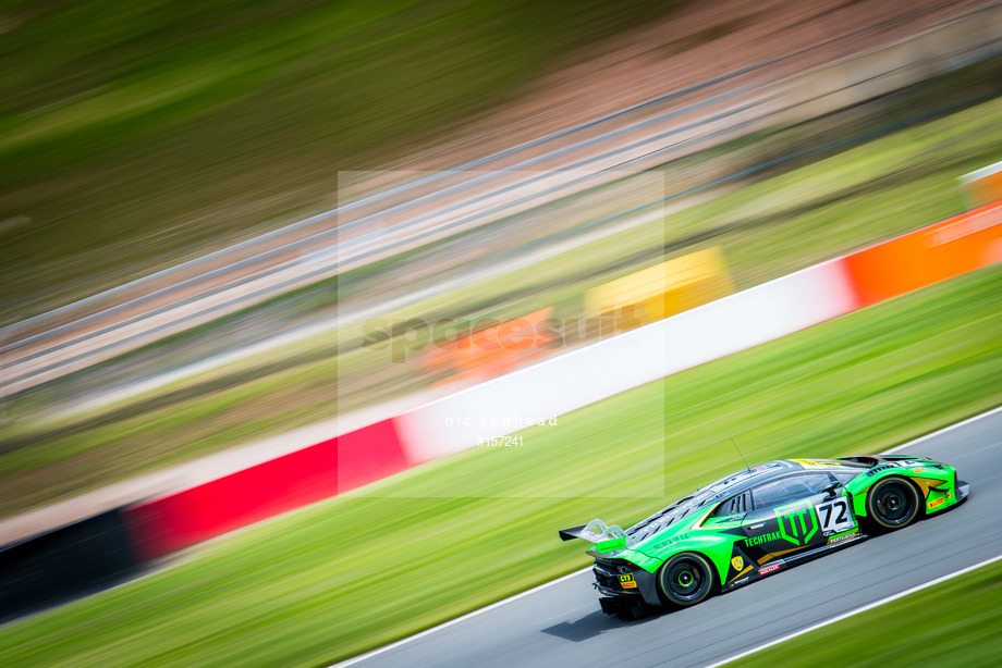 Spacesuit Collections Image ID 157241, Nic Redhead, British GT Donington Park GP, UK, 22/06/2019 12:13:34