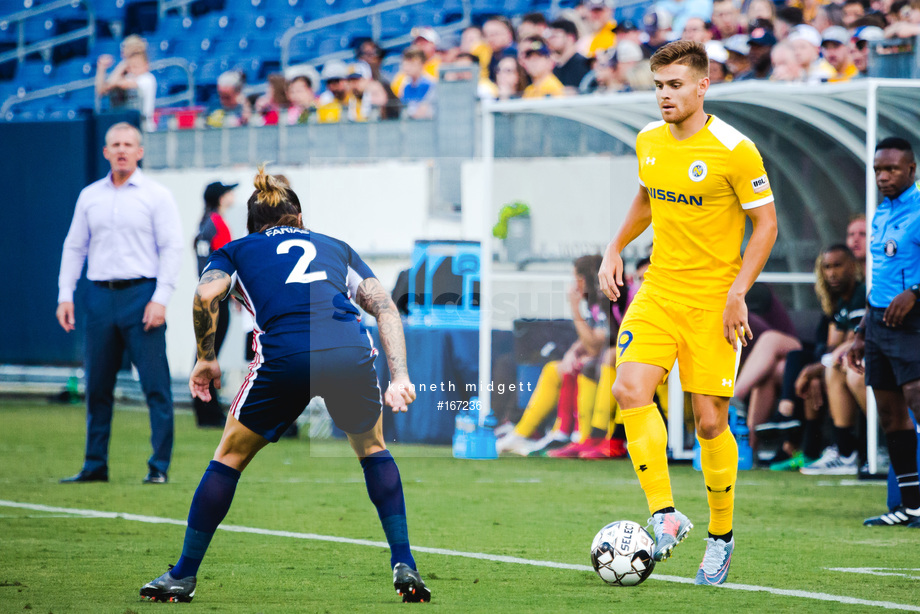 Spacesuit Collections Image ID 167236, Kenneth Midgett, Nashville SC vs Indy Eleven, United States, 27/07/2019 18:16:24