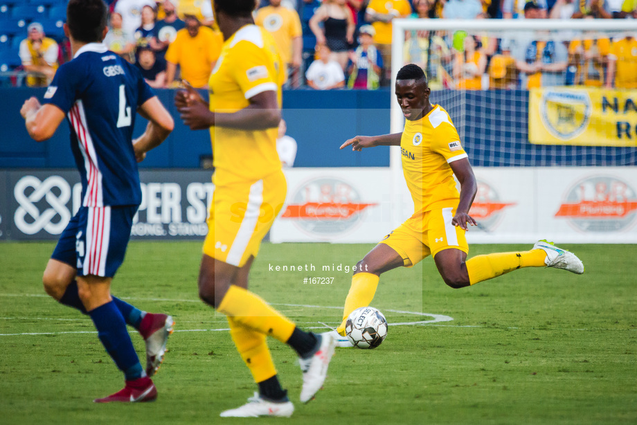 Spacesuit Collections Image ID 167237, Kenneth Midgett, Nashville SC vs Indy Eleven, United States, 27/07/2019 18:16:29
