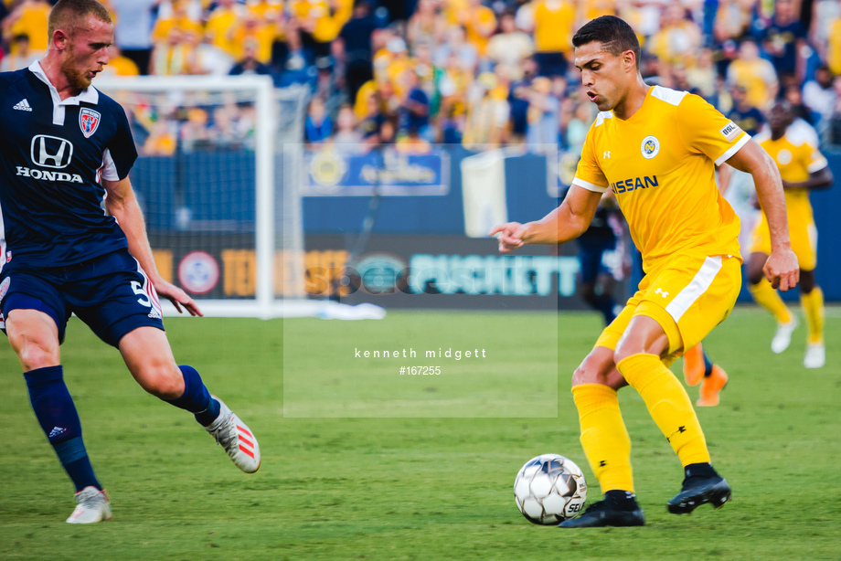 Spacesuit Collections Image ID 167255, Kenneth Midgett, Nashville SC vs Indy Eleven, United States, 27/07/2019 18:30:40