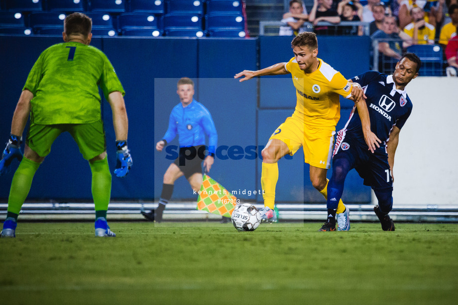 Spacesuit Collections Image ID 167303, Kenneth Midgett, Nashville SC vs Indy Eleven, United States, 27/07/2019 19:33:38