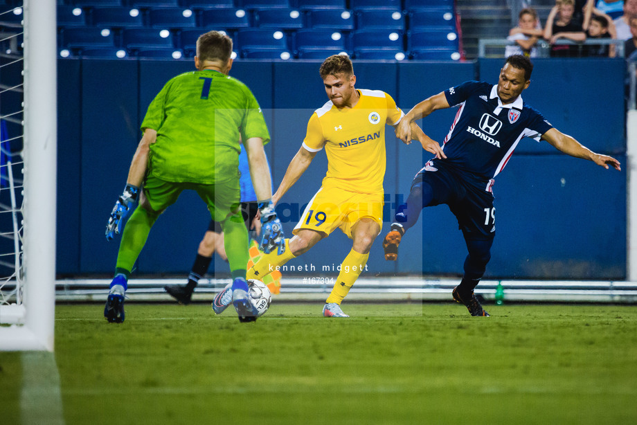 Spacesuit Collections Image ID 167304, Kenneth Midgett, Nashville SC vs Indy Eleven, United States, 27/07/2019 19:33:38