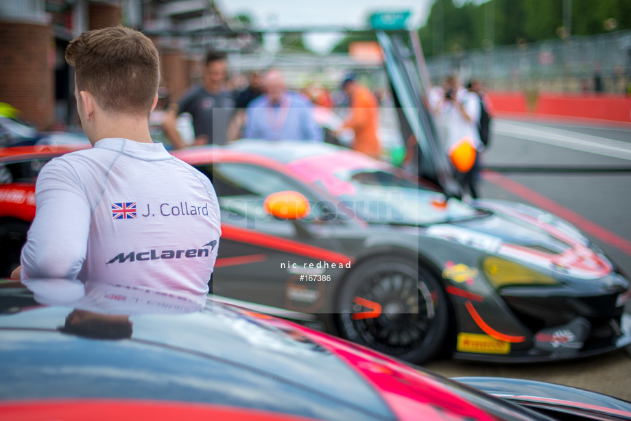 Spacesuit Collections Image ID 167386, Nic Redhead, British GT Brands Hatch, UK, 04/08/2019 08:56:05