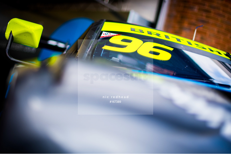 Spacesuit Collections Image ID 167389, Nic Redhead, British GT Brands Hatch, UK, 04/08/2019 09:00:30