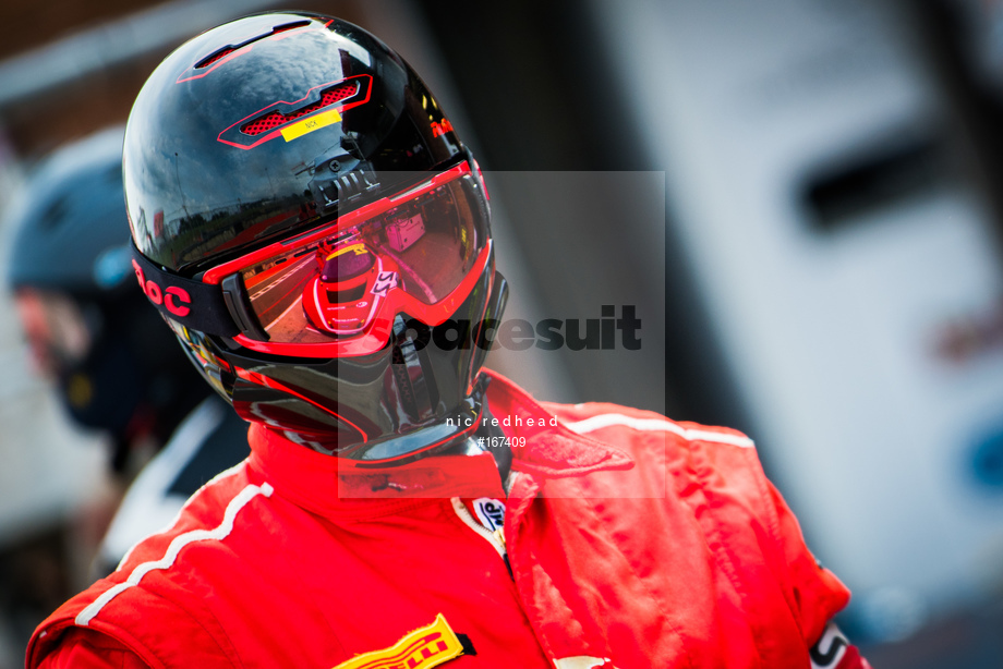 Spacesuit Collections Image ID 167409, Nic Redhead, British GT Brands Hatch, UK, 04/08/2019 10:10:22