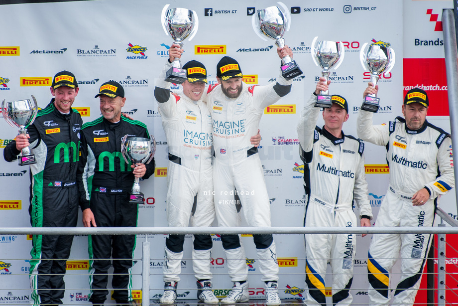 Spacesuit Collections Image ID 167418, Nic Redhead, British GT Brands Hatch, UK, 04/08/2019 15:25:23