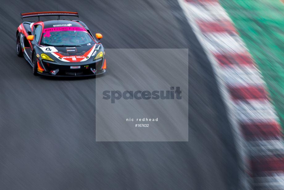 Spacesuit Collections Image ID 167432, Nic Redhead, British GT Brands Hatch, UK, 04/08/2019 13:25:43