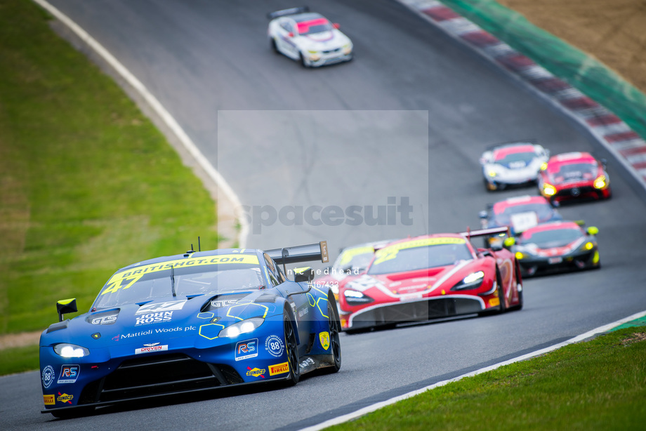 Spacesuit Collections Image ID 167433, Nic Redhead, British GT Brands Hatch, UK, 04/08/2019 13:32:37