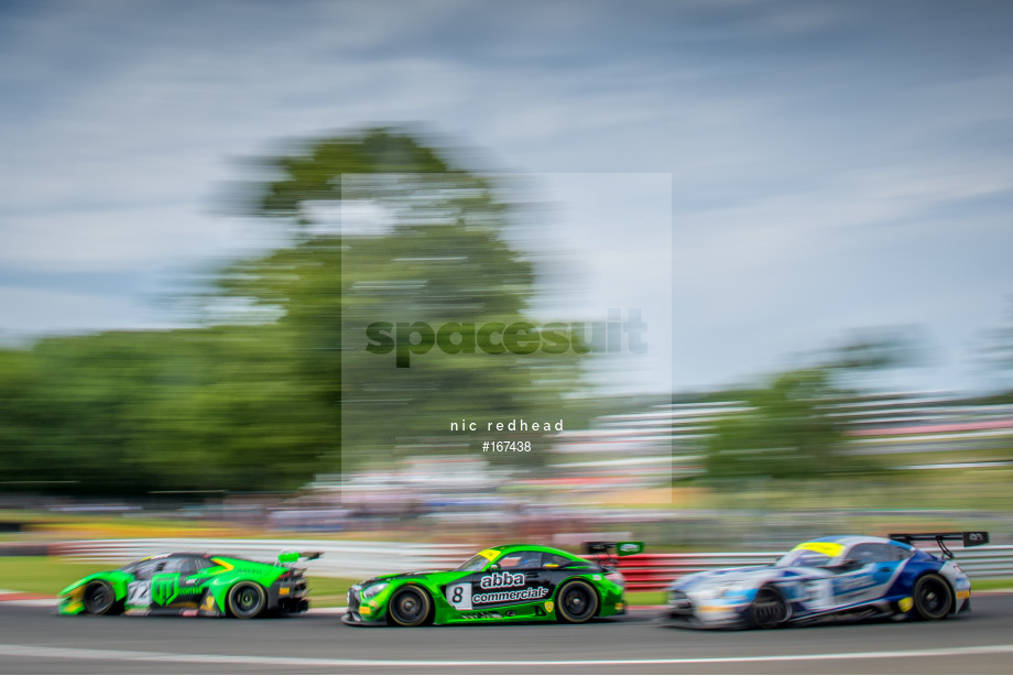 Spacesuit Collections Image ID 167438, Nic Redhead, British GT Brands Hatch, UK, 04/08/2019 13:52:47