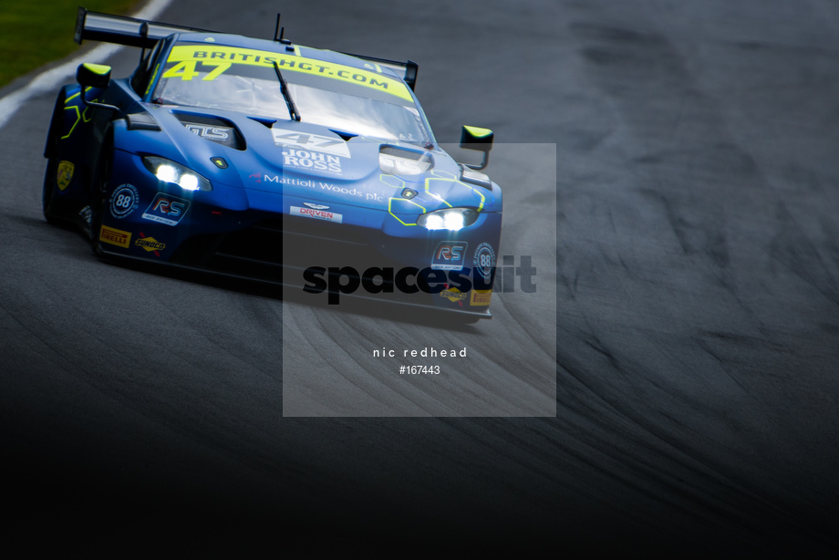 Spacesuit Collections Image ID 167443, Nic Redhead, British GT Brands Hatch, UK, 04/08/2019 14:22:02
