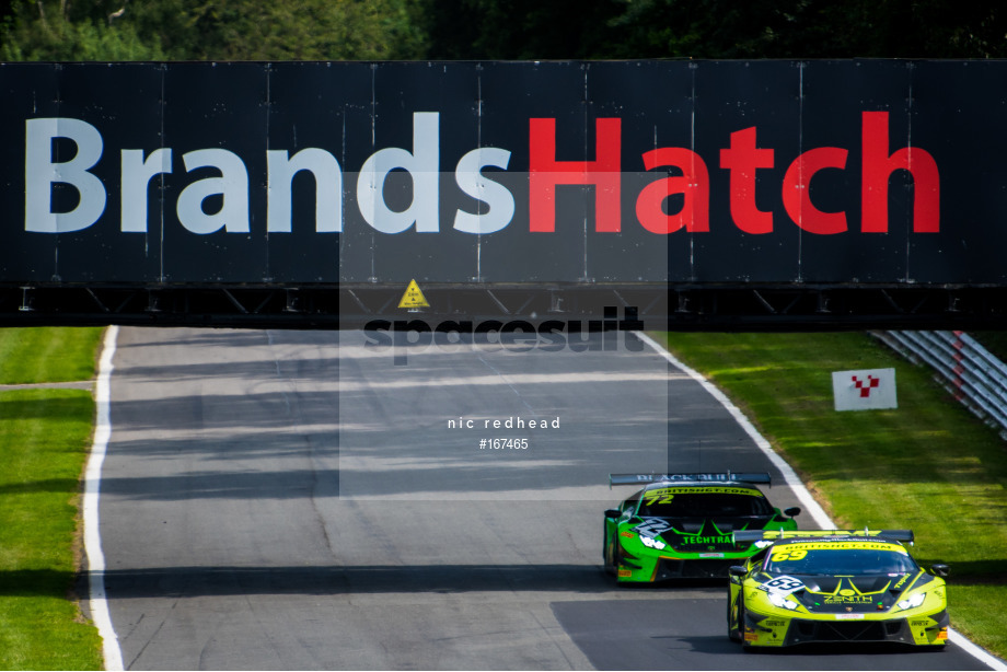 Spacesuit Collections Image ID 167465, Nic Redhead, British GT Brands Hatch, UK, 04/08/2019 14:56:09