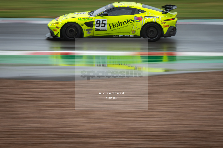 Spacesuit Collections Image ID 205489, Nic Redhead, British GT Donington Park, UK, 16/08/2020 10:35:13