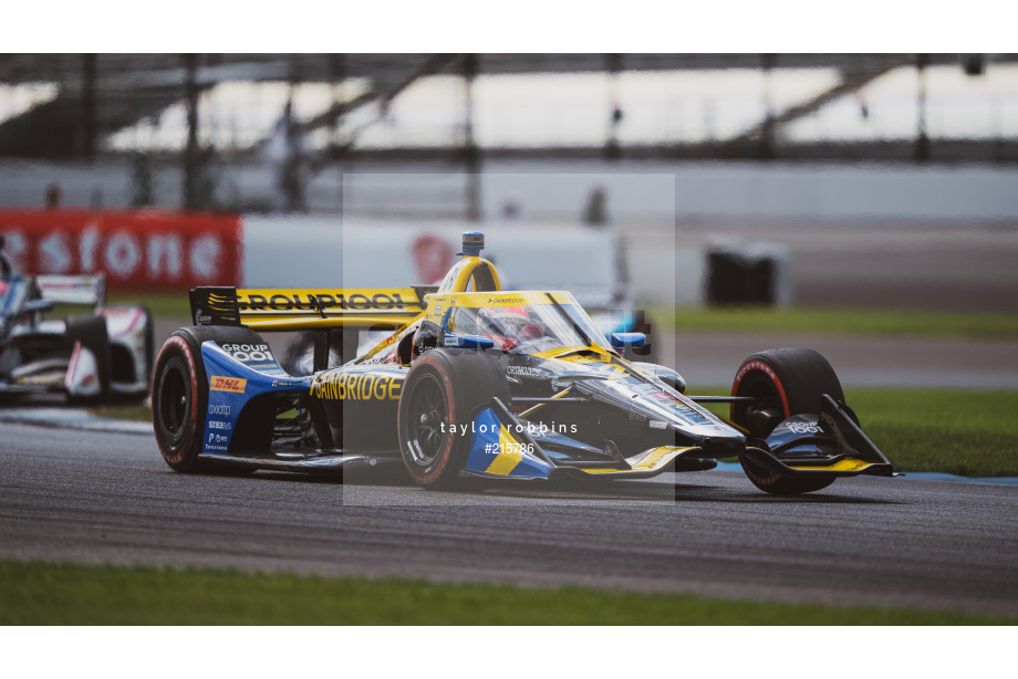 Spacesuit Collections Image ID 215786, Taylor Robbins, INDYCAR Harvest GP Race 2, United States, 03/10/2020 14:40:13