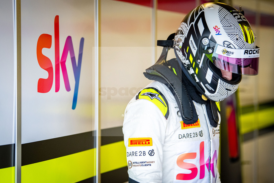 Spacesuit Collections Image ID 217735, Nic Redhead, British GT Silverstone 500, UK, 08/11/2020 10:12:07