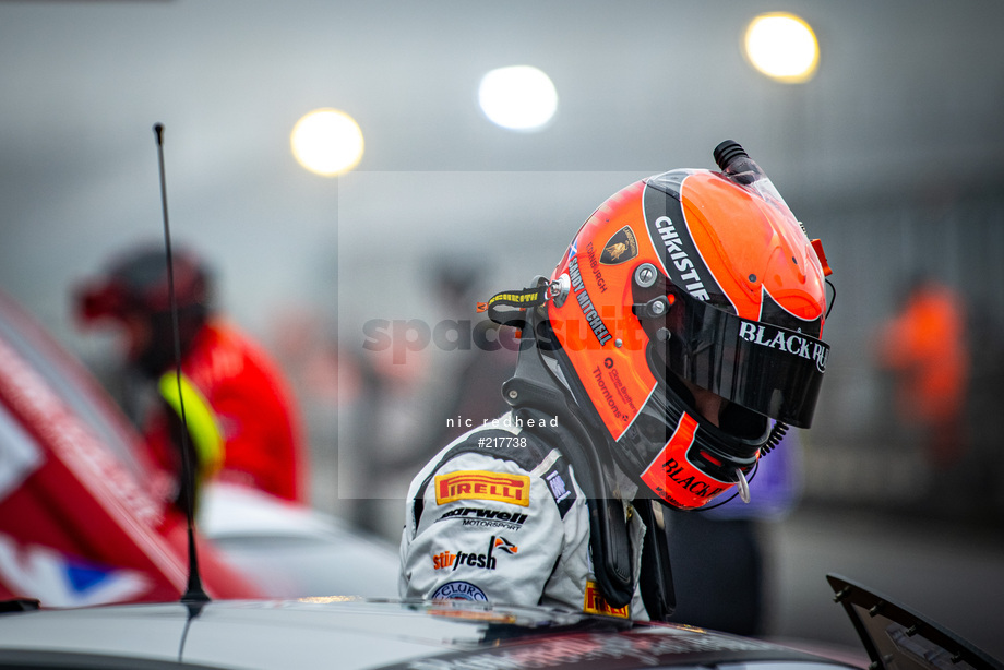 Spacesuit Collections Image ID 217738, Nic Redhead, British GT Silverstone 500, UK, 08/11/2020 10:35:21