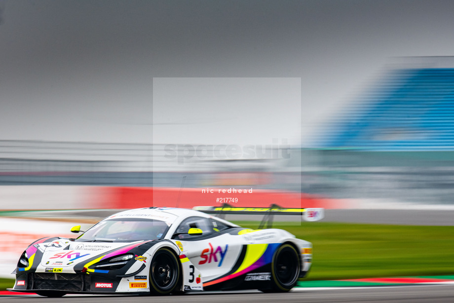 Spacesuit Collections Image ID 217749, Nic Redhead, British GT Silverstone 500, UK, 08/11/2020 13:45:41