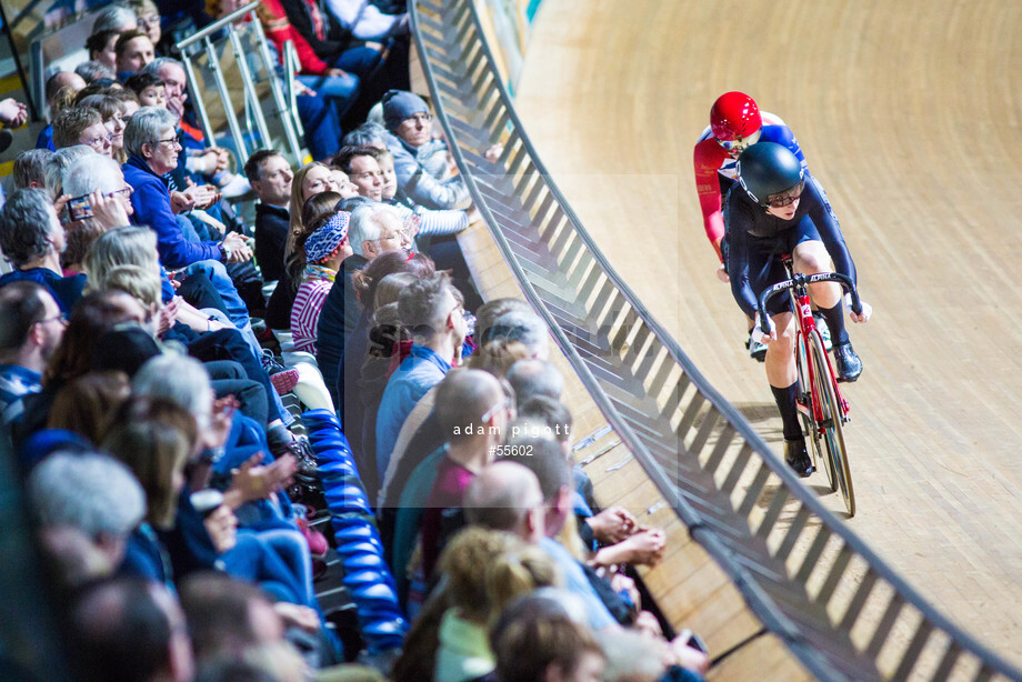 Spacesuit Collections Image ID 55602, Adam Pigott, British Cycling National Omnium Championships, UK, 17/02/2018 17:06:17