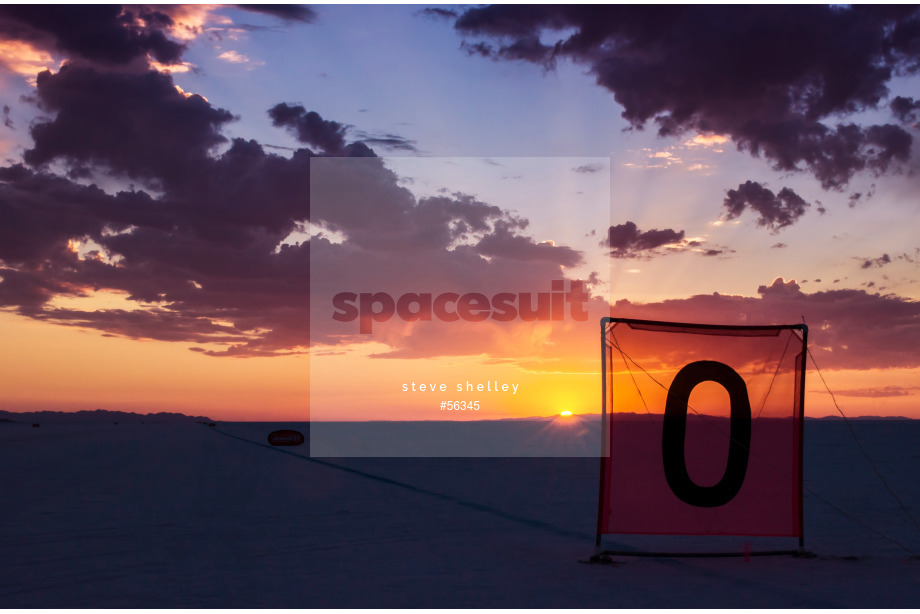 Spacesuit Collections Image ID 56345, Steve Shelley, Speed Week 2016, United States, 17/08/2016 13:45:07