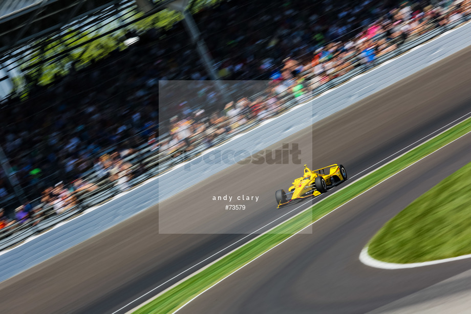 Spacesuit Collections Image ID 73579, Andy Clary, Indianapolis 500, United States, 25/05/2018 11:34:30