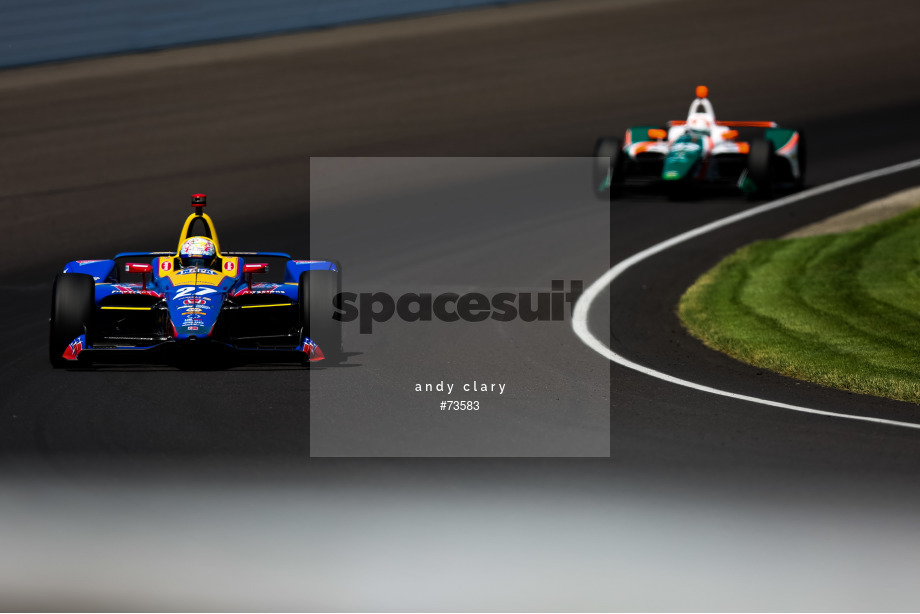 Spacesuit Collections Image ID 73583, Andy Clary, Indianapolis 500, United States, 25/05/2018 11:37:44