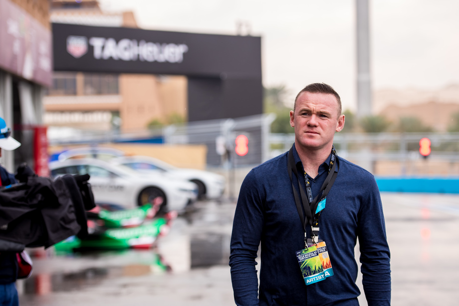 Wayne Rooney: FIA Formula E Riyadh 2018 Collection Cover Photo