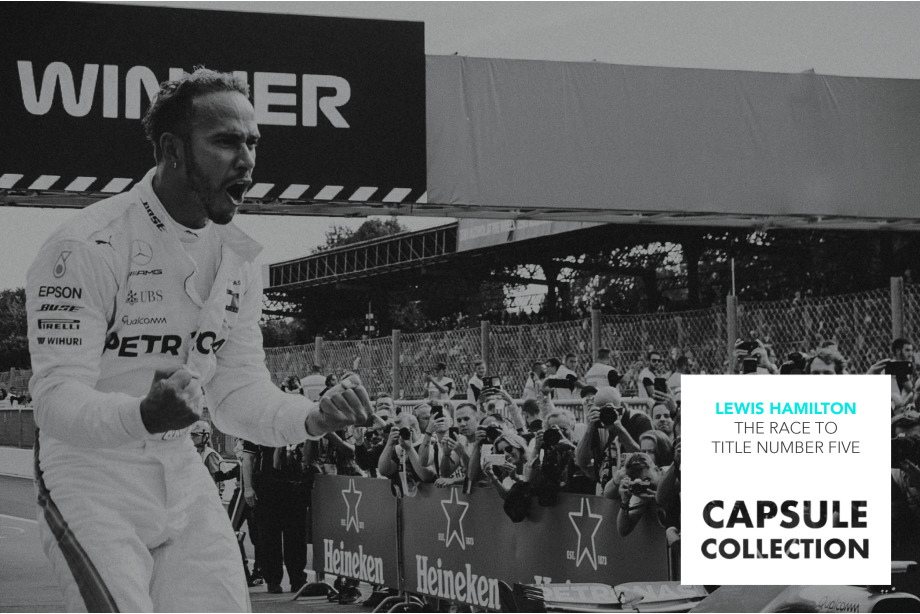 Lewis Hamilton: the race to title number five Collection Cover Photo