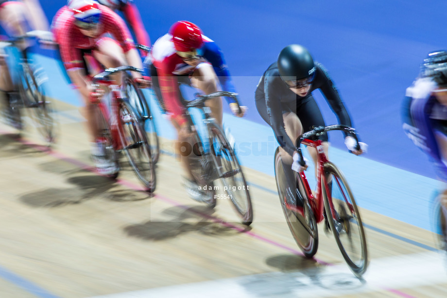 Spacesuit Collections Image ID 55541, Adam Pigott, British Cycling National Omnium Championships, UK, 17/02/2018 12:55:01