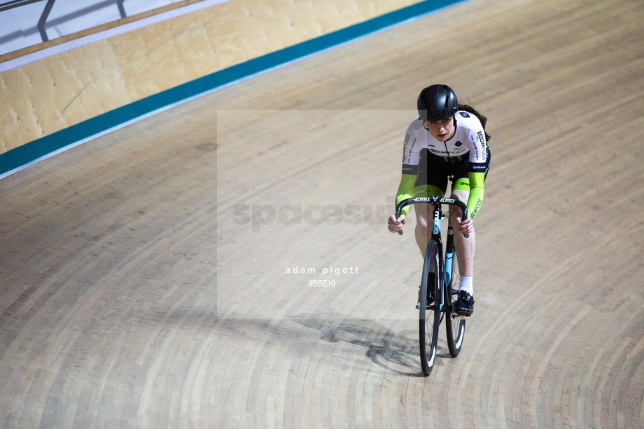 Spacesuit Collections Image ID 55519, Adam Pigott, British Cycling National Omnium Championships, UK, 17/02/2018 10:49:19
