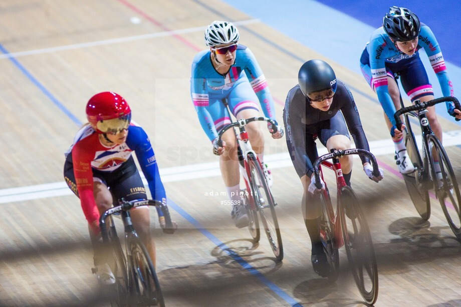 Spacesuit Collections Image ID 55538, Adam Pigott, British Cycling National Omnium Championships, UK, 17/02/2018 12:49:34