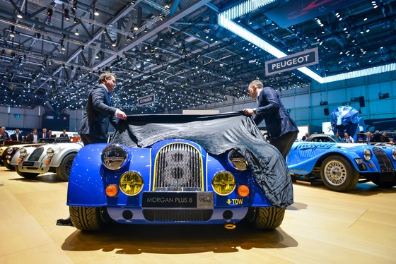 Morgan Motor Company: Geneva 2018 Album Cover Photo