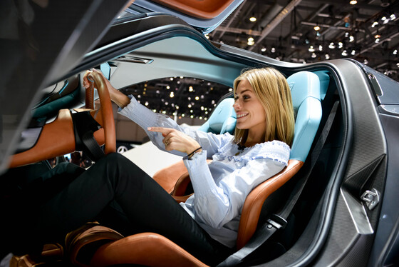 Marta Rovatti Studihrad, Geneva International Motor Show, Switzerland, 07/03/2018 14:58:08 Thumbnail