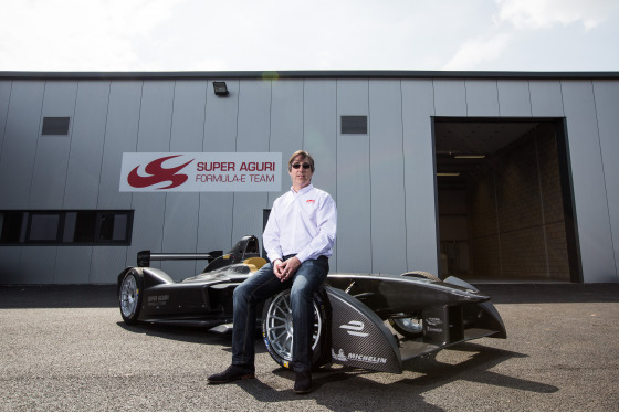 Shivraj Gohil, Formula E Launch Day, UK, 15/05/2014 15:08:41 Thumbnail
