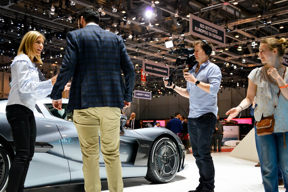 Marta Rovatti Studihrad, Geneva International Motor Show, Switzerland, 07/03/2018 15:03:11 Thumbnail
