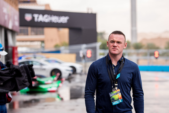 Wayne Rooney: FIA Formula E Riyadh 2018 Album Cover Photo